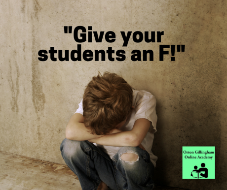 Give Your Students an F!
