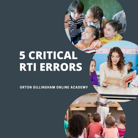 5 Critical RTI Errors