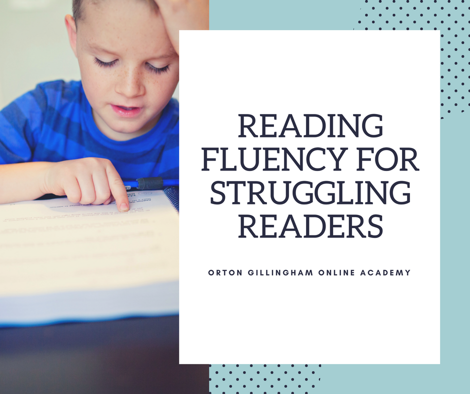 reading fluency for struggling readers