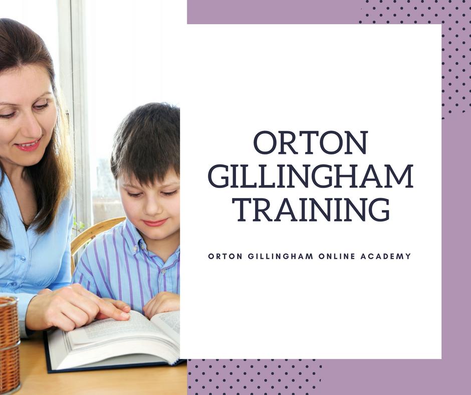 Orton Gillingham Training