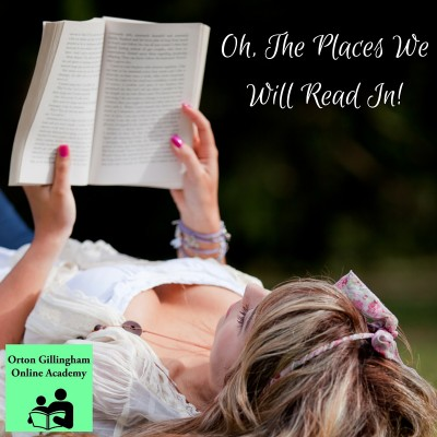 Oh, The Places We Read In!