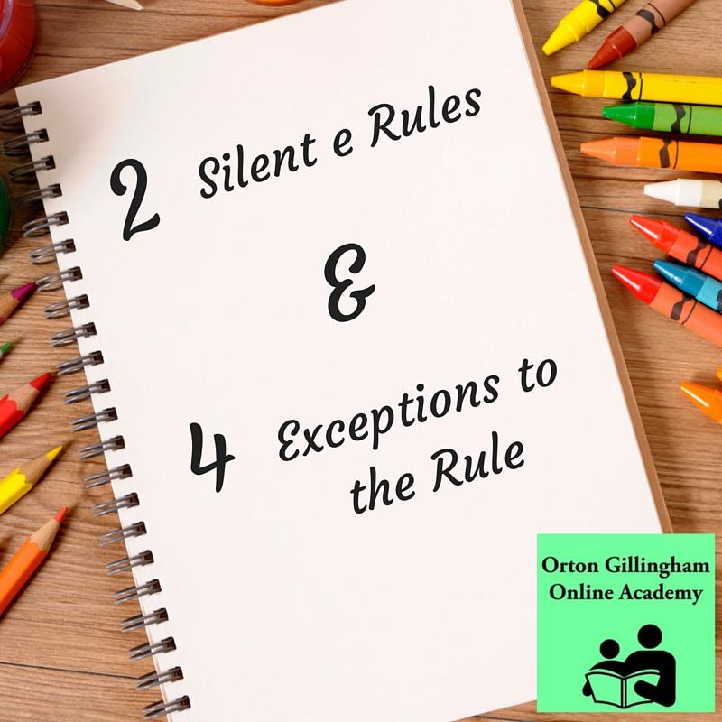 Silent e Rule