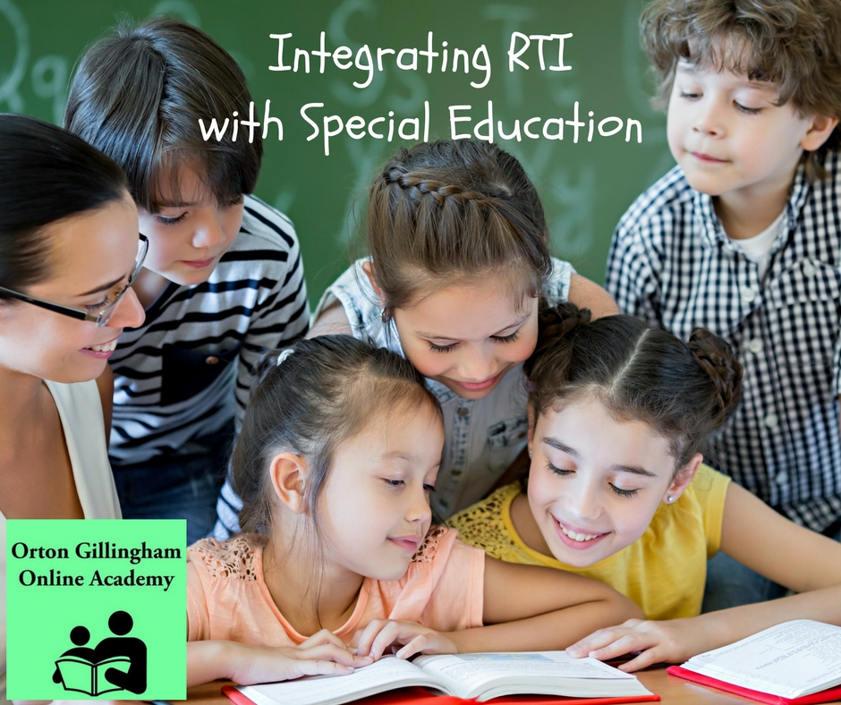 Integrating RTI with Special Education