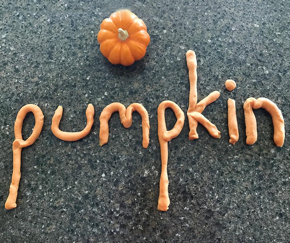 Organic Pumpkin Spice Playdough