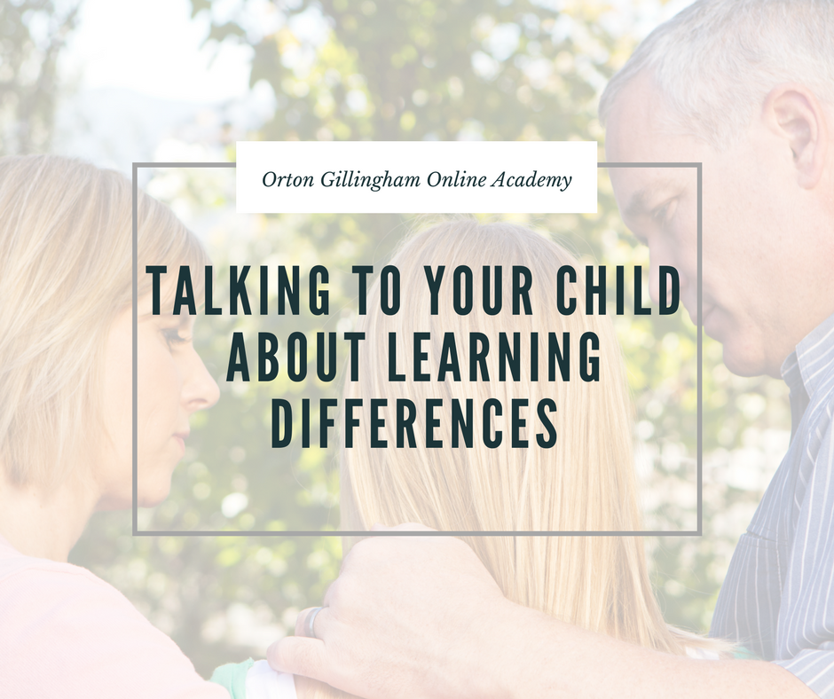Talking to Your Child About Learning Differences