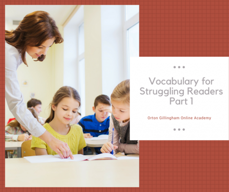 Vocabulary for Struggling Readers Part 1