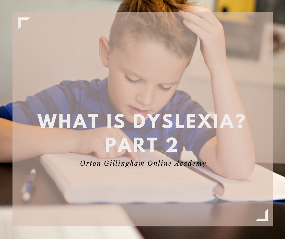 What is Dyslexia? Part 2
