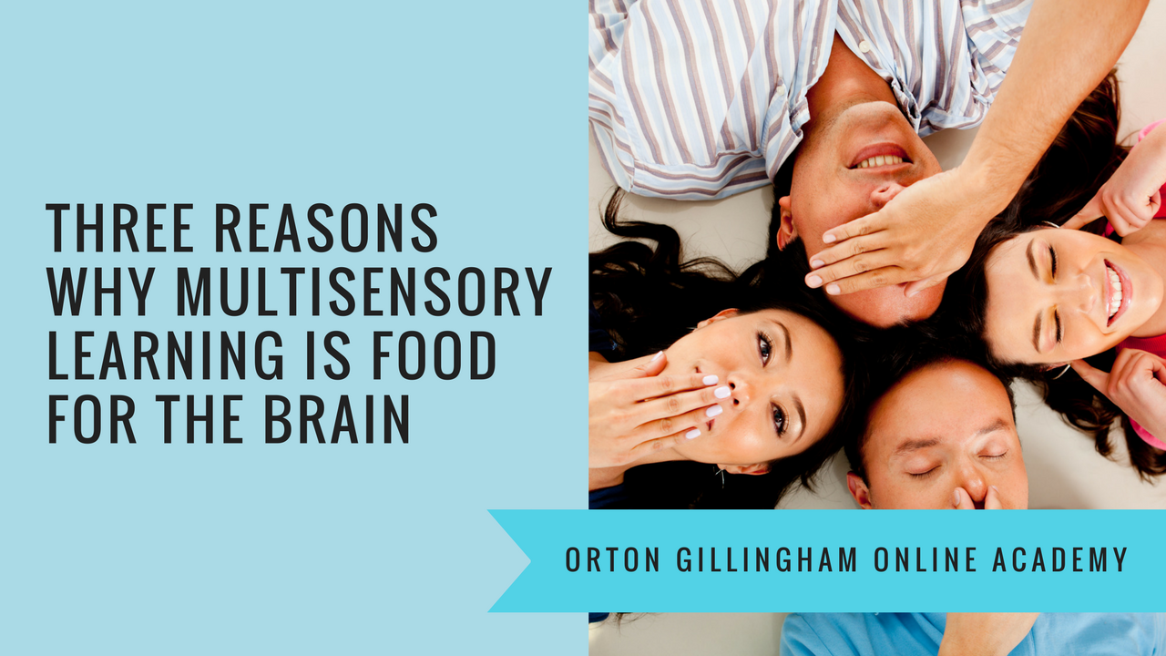 Three Reasons Why Multisensory Learning is Food for the Brain