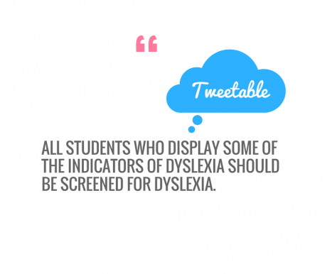 In 2014 New Jersey Passed A Law Requiring All Schools To Screen For Dyslexia And Many Grassroot Organizations Such As Decoding Dyslexia Are Pressuring