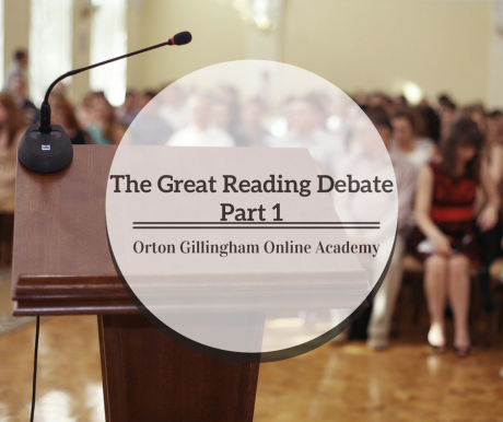 The Great Reading Debate Part 1
