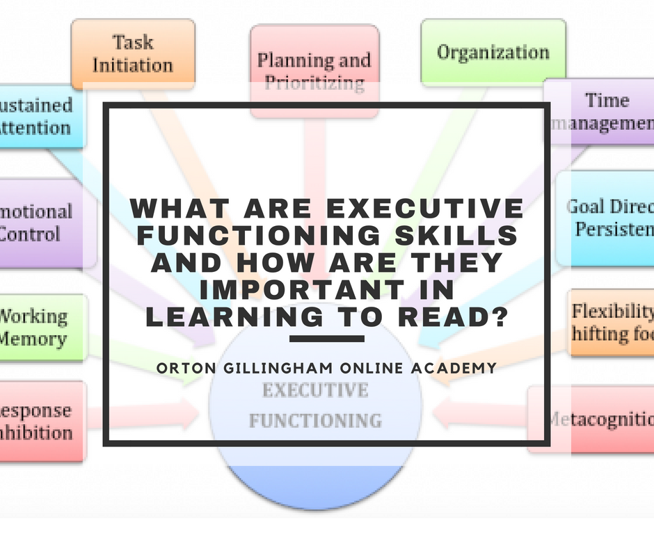 What are Executive Functioning Skills and how are they Important in Learning to Read?