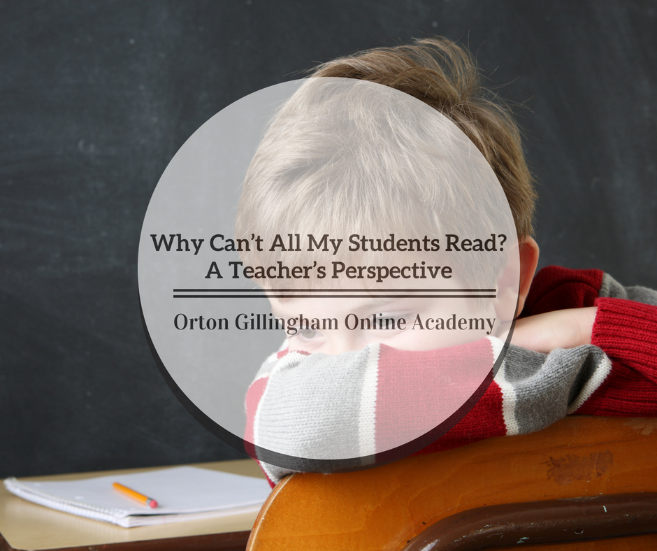 Why Can't All My Students Read? A Teacher's Perspective