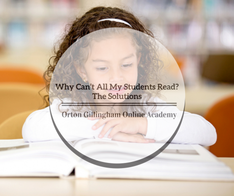 Why Can't All My Students Read? The Solutions