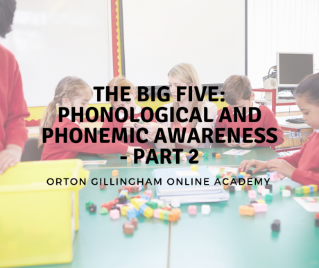 The Big Five_ Phonological and Phonemic Awareness Part 2