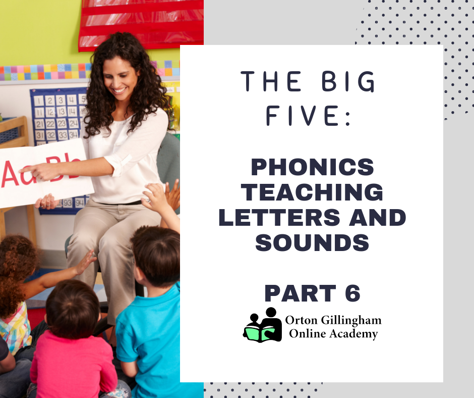 Phonics Teaching Letters and Sounds Part 6