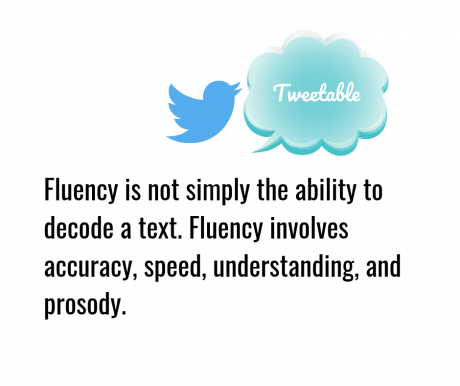 Fluency Tweetable